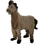 2-person Horse Professional Quality Mascot Costume Made In The Usa