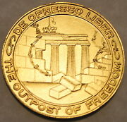 Authentic Special Forces Berlin Brigade Outpost Det-a Army Challenge Coin Delta