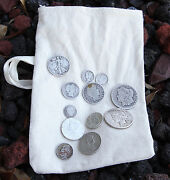 Survival Money Bug Out Collection Of 12 90 35 Silver Coins From A Bygone Era