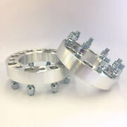 Billet Wheel Adapters 8x6.5'' To 8x170mm 1.5'' Spacers 8 Lug 126 Cb 14x1.5mm