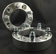 2x Custom Wheel Spacers Adapters ¦ 5x139.7 5x5.5 ¦ 9/16 Studs ¦ 1 Inch Thick