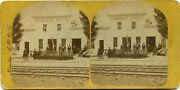California Stereoview 1870and039s Humboldt House 422 Miles To San Francisco Ca