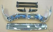 55 Chevy Front 3-piece Bumper With Bumper Brackets 1955 Chevrolet New