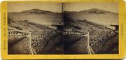 California Alfred Hart Stereoview 1870and039s San Francisco Fort Point Ca