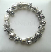 Genuine Authentic Pandora Discontinued Charm Collection Rare And Retired
