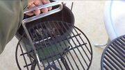 Stainless Steel Ott Grid Grill Grate Lifter Tool For Weber Charcoal Primo Bbq