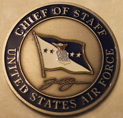 General John P. Jumper United States Air Force Chief Of Staff Challenge Coin