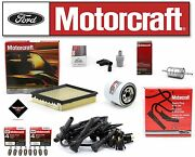 Motorcraft Tune Up Kit 1996 Lincoln Mark Viii 4.6l Ignition Wire Wr5873 Sp432