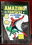 Amazing Fantasy 15 Green Cover Giveaway Promo Spiderman