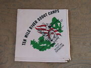 Ten Mile River Scout Camps Ny 1959 Scout Expo Neckerchief Bsa