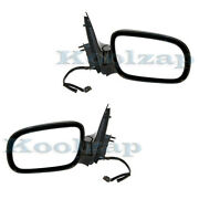 97-05 Chevy Venture And 05-09 Uplander Rear View Mirror Power Non-heated Set Pair