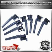 Ford Mustang Lincoln Aviator Blackwood Continental Navigato Ignition Coil 8 Pcs