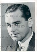 1942 Us Ambassador John Hay Jock Whitney Press Photo