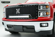 T-rex Torch Series Led Grille For 14-15 Chevrolet Silverado 1500 6311191 Black