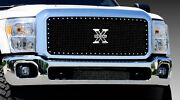 T-rex X-metal Series Grille 1 Piece For 11-14 Ford F250 F350 Super Duty 6715461