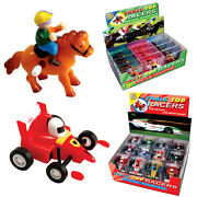 Table Top Racers Fun Wind Up Toys Formula 1 Car Horse Racing Kids Gift Xmas Toy