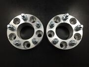 2 Wheel Spacers Adapters | 5x114.3 5x4.5 | 1/2-unf Studs | 50mm 2 Inch