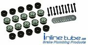 64-67 A-body Chevelle Gto Hardtop Factory Body Mounts Bushings Cushions And Bolts
