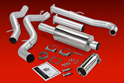 Banks Monster Exhaust Fits 01-04 Chevy Gmc Duramax 6.6l Diesel Chrome Tip Sclb
