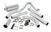 Banks Monster Exhaust And Elbow Fits 99-03 Ford F250/350 Powerstroke 7.3l No Cat