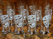 Peroni Collectible Beer Tasting Glass Or Liqueur Shot Glasses - Set Of 16