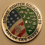 Strike Fighter Squadron 25 Navy Challenge Coin