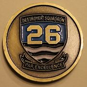 Destroyer Squadron 26 Navy Challenge Coin