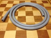Hve Vacuum Suction Tubing Gray 7and039 Asepsis Style Geometric Anti-collapse Hose