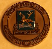 Us Army Military Intelligence Corps Command Sergeant Major Army Challenge Coin