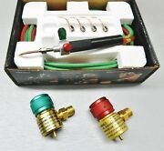Smith Little Torch With 5 Tips And Oxygen And Fuel Regulators Jewelry Soldering Kit