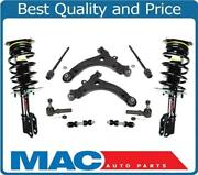 For 99-04 Montana Complete Coil Spring Strut And Mount Control Arms Bushings 10p
