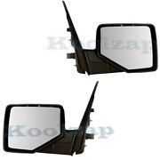06-10 Explorer, Mountaineer Rear View Mirror Power Heated W/puddle Lamp Pair Set