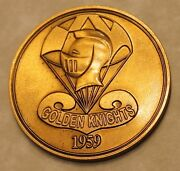 Us Army Parachute Team Golden Knights Bronze Army Challenge Coin