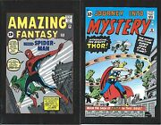 Amazing Fantasy 15 Journey Into Mystery 83 Spiderman Thor Flip Giveaway Promo