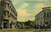 Antique Postcard Shows Corner Of Aultman And Murray Streets In Ely Nevada