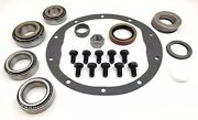 Gm Chevrolet 8.5 Master Bearing Ring And Pinion Kit Rear Eaton Carrier
