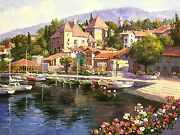 Sam Park Savoi Spain | Signed Embellished/canvas | 30 X 40 | Others Avail