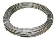 304 Stainless Steel Wire Rope Cable 1/8 7x7 100 Ft Made In Korea
