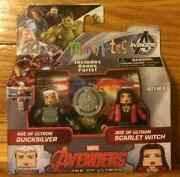 Marvel Minimates Age Of Ultron Scarlet Witch And Quicksilver Tru Exclusive Wave 61