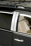 Chrome Decorative Pillar Post Trim Fits 2008-2014 Chrysler Town And Country 6 Pce.
