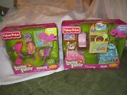 New Fisher Price Loving Family Nursery Everything For Baby 2 Piece Lot Sets Look