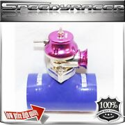 Silicone Type-s Turbo Blow Off Valve Bov 3 Adapter Blue+ Emusa Type Rs Bov