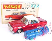 China Me-722 Plymouth Valiant Signet Rc Battery Op Tin Toy Car Mib`60 Simply New