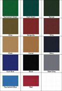New 8and039 Proform High Speed Pool Table Cloth Felt - Black - Ships Fast