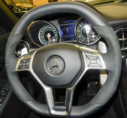 Mercedes Benz Genuine R172 Slk Smg Alcantara Steering Wheel With Paddle Shifters