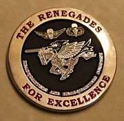 160th Soar Airborne Night Stalkers The Renegades Army Challenge Coin