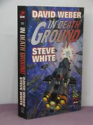 1st, Signed By 3, Starfire 3 In Death Ground, David Weber And Steve White1997