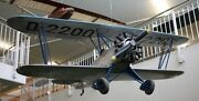 F-2 Tiger Fieseler Germany F2 Airplane Wood Model Replica Large Free Shipping