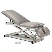 Treatment Exam Table Power Height Adj Backrest Drop Section Country Mist