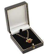 Pendant/drop Earring Boxes Antique Style Leatherette Gift Display Jewellery Box